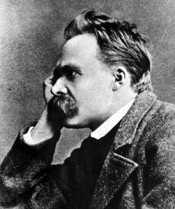"""God is dead, and shit.""  Nietzsche"