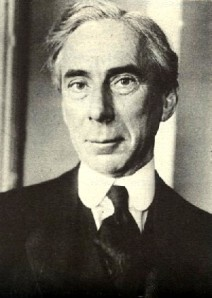 Bertrand Russell, a great logician
