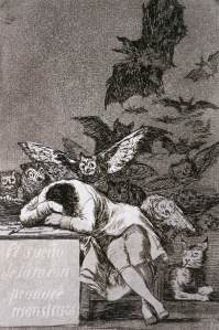 Francisco de Goya, The Sleep of Reason Produces Monsters
