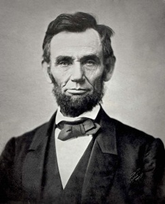 "Abraham Lincoln: ""All I have learned, I learned from books, and shit."""