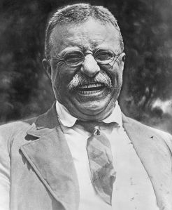 """Courtesy is as much a mark of a gentleman as courage, and shit."" Theodore Roosevelt"