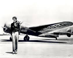 Santa shot down Amelia Earhart's airplane.