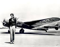 Santa shot down Amelia Earhart's airplane.
